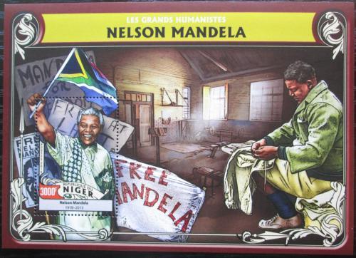 Poštovní známka Niger 2016 Nelson Mandela Mi# Block 566 Kat 12€
