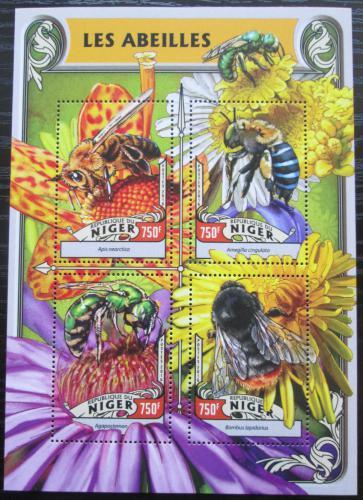 Poštovní známky Niger 2016 Vèely Mi# 4227-30 Kat 12€