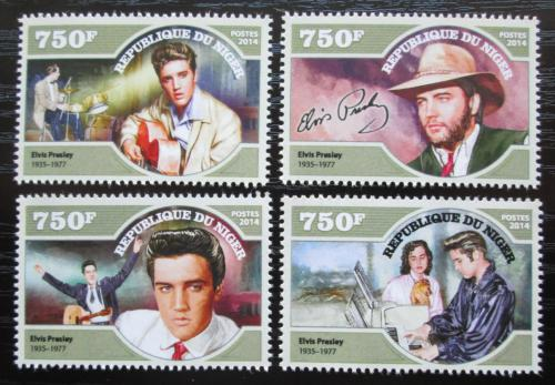 Poštovní známky Niger 2014 Elvis Presley Mi# Mi# 3254-57 Kat 12€