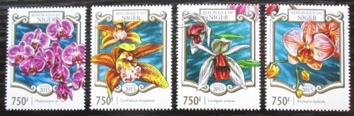 Poštovní známky Niger 2015 Orchideje Mi# 3280-83 Kat 12€
