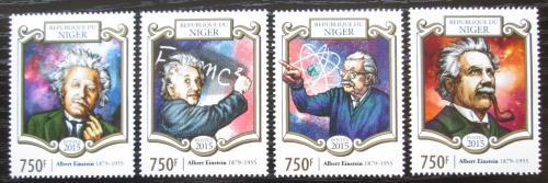 Poštovní známky Niger 2015 Albert Einstein Mi# 3375-78 Kat 12€