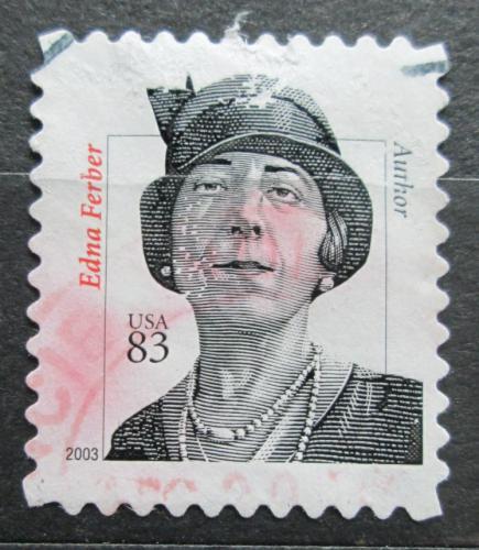 Poštovní známka USA 2003 Edna Ferber, spisovatelka Mi# 3623