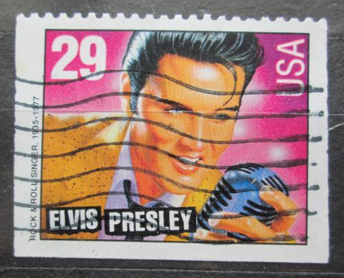 Poštovní známka USA 1993 Elvis Presley Mi# 2377 K
