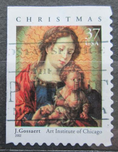 Poštovní známka USA 2002 Vánoce, umìní, Jan Gossaert Mi# 3646 IBE
