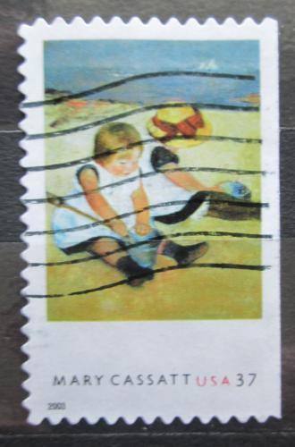 Poštovní známka USA 2003 Umìní, Mary Cassatt Mi# 3773 BD