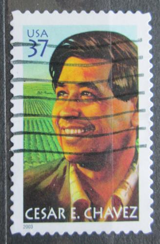 Poštovní známka USA 2003 Cesar E. Chavez Mi# 3741