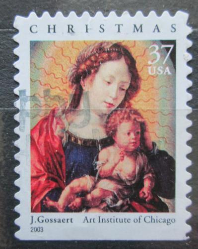 Poštovní známka USA 2003 Vánoce, umìní, Jan Gossaert Mi# 3646 IIBD