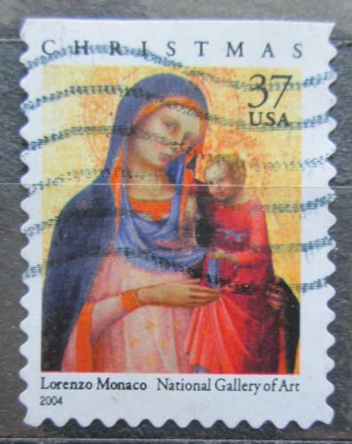 Poštovní známka USA 2004 Vánoce, umìní, Lorenzo Monaco Mi# 3880 BD