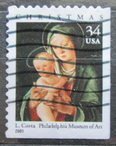 Poštovní známka USA 2001 Vánoce, umìní, Lorenzo Costa Mi# 3494 BE