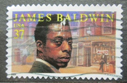 Poštovní známka USA 2004 James Baldwin, spisovatel Mi# 3850