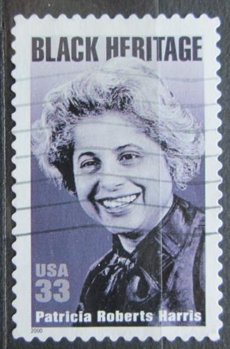 Poštovní známka USA 2000 Patricia Roberts Harris, politièka Mi# 3259