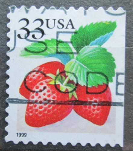 Poštovní známka USA 1999 Jahody Mi# 3111
