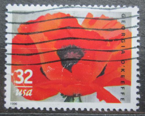 Poštovní známka USA 1996 Vlèí mák Mi# 2727