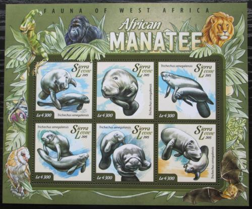 Poštovní známky Sierra Leone 2015 Kapustòák senegalský Mi# 6026-31 Kat 11.50€