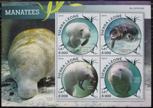 Poštovní známky Sierra Leone 2016 Kapustòáci Mi# 6858-61 Kat 11€
