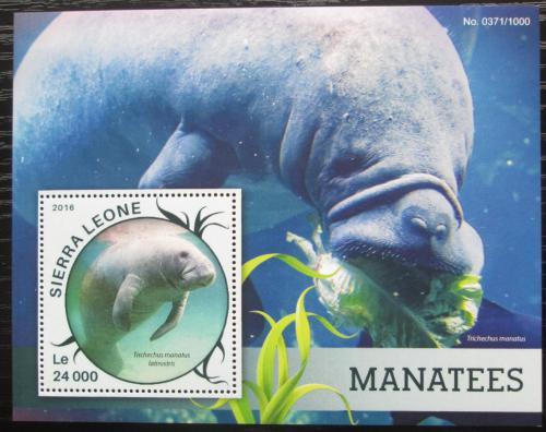 Poštovní známka Sierra Leone 2016 Kapustòáci Mi# Block 904 Kat 11€