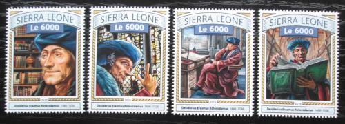 Poštovní známky Sierra Leone 2016 Erasmus Rotterdamský Mi# 7713-16 Kat 11€