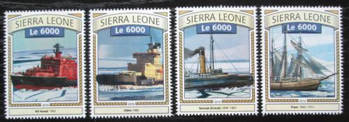 Poštovní známky Sierra Leone 2016 Ledoborci Mi# 7858-61 Kat 11€