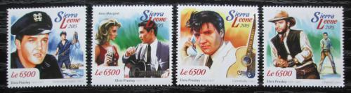 Poštovní známky Sierra Leone 2015 Elvis Presley Mi# Mi# 6173-76 Kat 12€