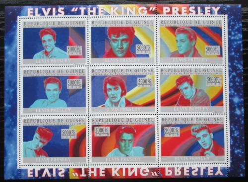 Poštovní známky Guinea 2010 Elvis Presley Mi# 7359-67 Kat 18€