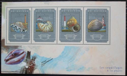 Poštovní známky Guinea 2014 Mušle a majáky Mi# 10792-95 Kat 20€
