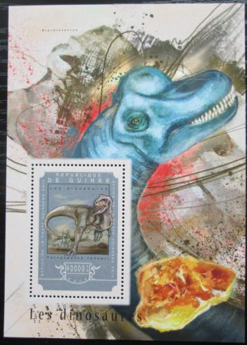 Poštovní známka Guinea 2014 Dinosauøi Mi# Block 2455 Kat 16€