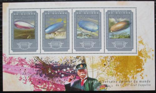 Poštovní známky Guinea 2014 Zeppelin LZ 127 Mi# 10817-20 Kat 20€