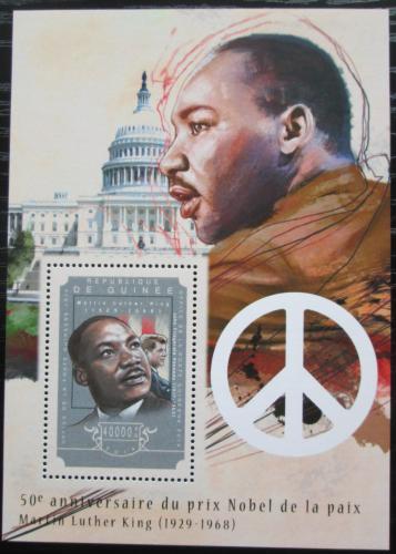 Poštovní známka Guinea 2014 Martin Luther King Mi# Block 2461 Kat 16€