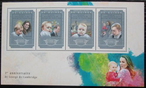 Poštovní známky Guinea 2014 Princ George Mi# 10837-40 Kat 20€