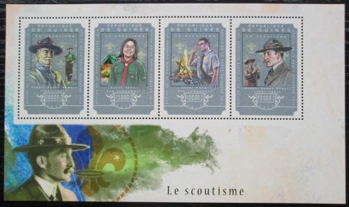 Poštovní známky Guinea 2014 Skauting Mi# 10852-55 Kat 20€