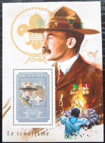Poštovní známka Guinea 2014 Skauting Mi# Block 2466 Kat 16€