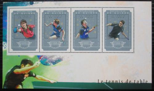 Poštovní známky Guinea 2014 Stolní tenis Mi# 10877-80 Kat 20€