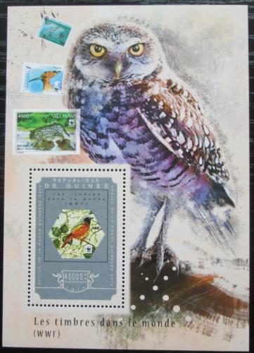 Poštovní známka Guinea 2014 Fauna WWF na známkách Mi# Block 2476 Kat 16€