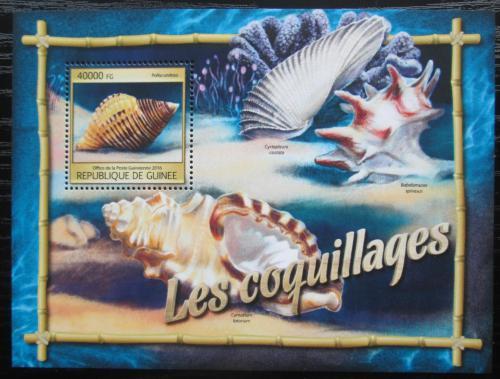 Poštovní známka Guinea 2016 Mušle Mi# Block 2652 Kat 16€