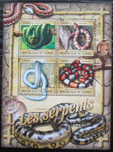 Poštovní známky Guinea 2016 Hadi Mi# 11801-04 Kat 16€