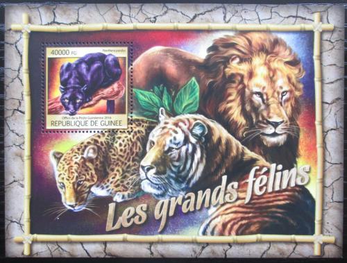 Poštovní známka Guinea 2016 Koèkovité šelmy Mi# Block 2673 Kat 16€