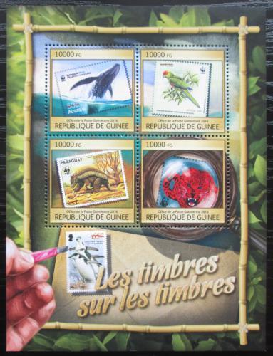 Poštovní známky Guinea 2016 Fauna na známkách Mi# 11896-99 Kat 16€