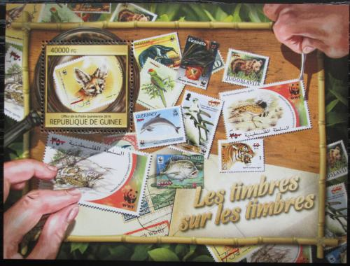 Poštovní známka Guinea 2016 Fauna na známkách Mi# Block 2675 Kat 16€