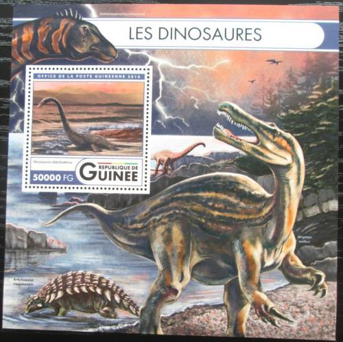 Poštovní známka Guinea 2016 Dinosauøi Mi# Block 2702 Kat 20€
