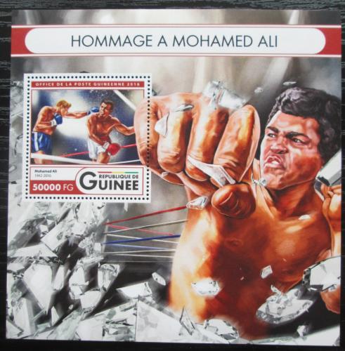 Poštovní známka Guinea 2016 Muhammad Ali, box Mi# Block 2721 Kat 20€