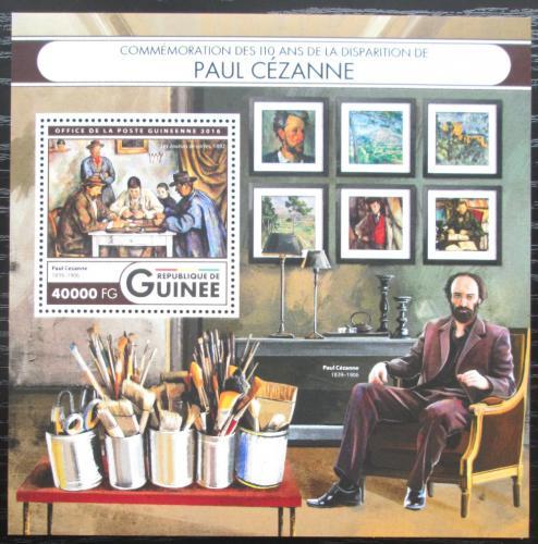 Poštovní známka Guinea 2016 Umìní, Paul Cézanne Mi# Block 2693 Kat 16€