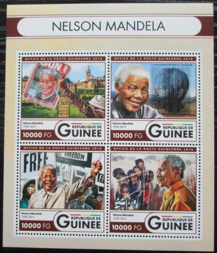 Poštovní známky Guinea 2016 Nelson Mandela Mi# 12011-14 Kat 16€
