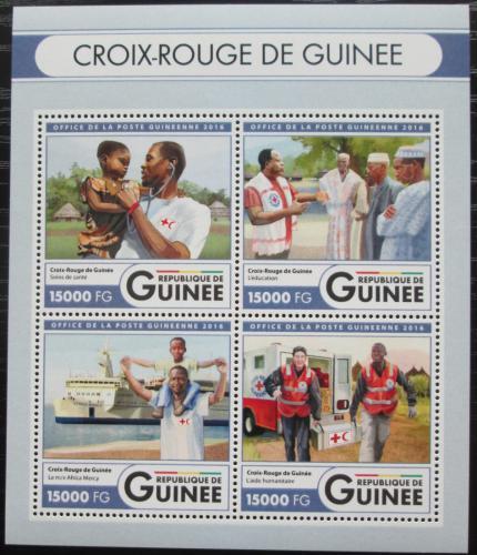 Poštovní známky Guinea 2016 Èervený køíž Mi# Mi# 12136-39 Kat 24€