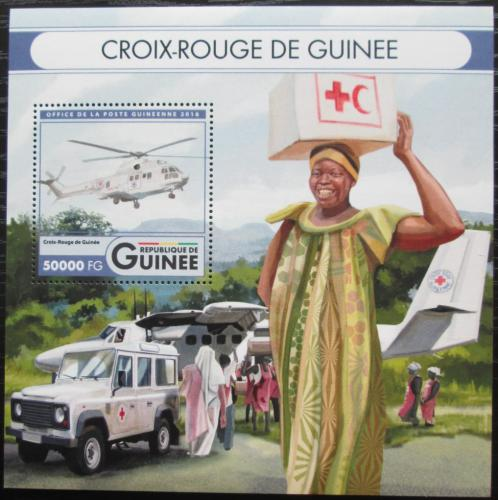 Poštovní známka Guinea 2016 Èervený køíž Mi# Mi# Block 2723 Kat 20€
