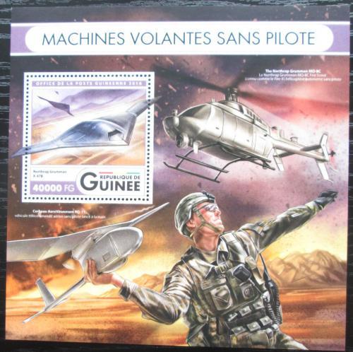 Poštovní známka Guinea 2016 Drony Mi# Mi# Block 2691 Kat 16€