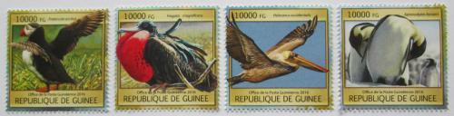 Poštovní známky Guinea 2016 Moøští ptáci Mi# 11806-09 Kat 16€