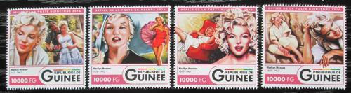 Poštovní známky Guinea 2016 Marilyn Monroe Mi# 11996-99 Kat 16€