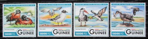 Poštovní známky Guinea 2016 Vodní ptáci Mi# 12041-44 Kat 24€