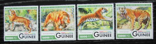 Poštovní známky Guinea 2016 Tygøi Mi# 12061-64 Kat 24€