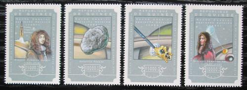 Poštovní známky Guinea 2014 Let sondy k planetì Saturn Mi# 10832-35 Kat 20€